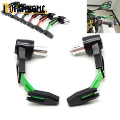 """Universal 7/8""""22mm Motorcycle Handlebar Clutch Brake Lever Protect Guard for Kawasaki Z ZR ZX 125 250 750 750R 750S 800 1000 SX"""