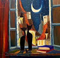 Looking out the window....Justyna Kopania