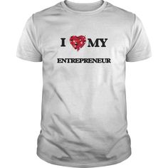 (Tshirt Top Discount) I love my Entrepreneur Free Ship Hoodies Tee Shirts