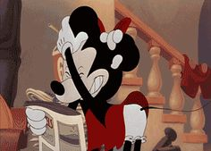 Or very aggressive! | Which Disney Kiss Are You This Valentines Day?