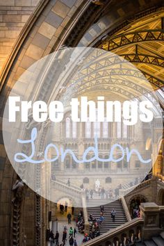 London - 27 Dinge, die völlig umsonst sind. Viele Museen