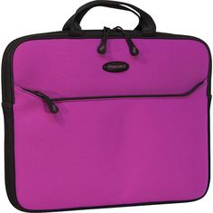 """Mobile Edge Me Slipsuit - Macbook Pro Sleeve - 15"""" ($24) ❤ liked on Polyvore featuring bags, luggage and purple"""