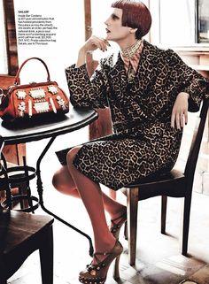 El Dorado: Mario Testino para Vogue, septiembre 2012