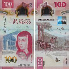 Ce nouveau billet de 100 MXN en polymer a été mis en circulation à partir du 12 novembre 2020. #mexico #peso #pesosmexico #banknote #mexique #tourisme Circulation, Mxn, Movie Posters, Animals, Weights, Mexicans, Banknote, November, Animales