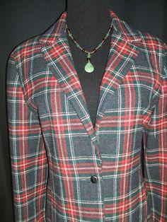 Vtg Pendleton Wool Blazer on Ebay