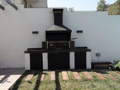 PERGOLAS Y QUINCHOS Backyard Kitchen, Outdoor Kitchen Design, Patio Design, Small Backyard Landscaping, Backyard Patio, Ideas De Barbacoa, Barbecue, Custom Bbq Pits, Versailles