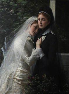 Philip Richard Morris (1833-1902) — Sisters  (697x944)