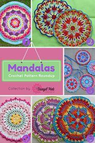 Danyel Pink Designs: 5 Crochet Patterns for Mandalas