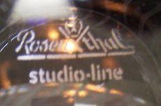 Rosenthal Studio Line Glass Mark