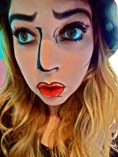 Comic+Book+Lips | Cool shit | Pinterest | Halloween ideas