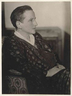 gertrude stein, by man ray