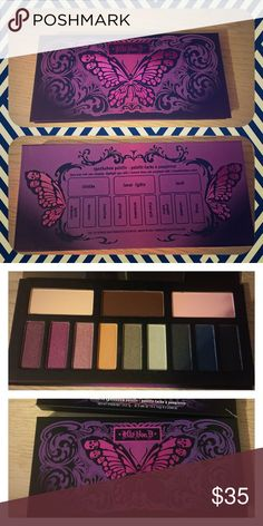 Brand New KVD Chrysalis Palette Brand new in box Kat Von D Chrysalis Palette! This has been sitting on my vanity forever and sadly I never reach for it. So buy it and love it because it deserves it haha!   #makeup #eyeshadow #eyeshadowpalette #kvd #katvond #monarch #sephora #tattoo #chrysalis Kat Von D Makeup Eyeshadow