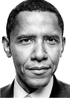Barack Obama (°1961) - the 44th and current President of the United States, and the first African American to hold the office. by Platon