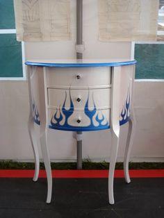 AD Kustom Furnitures, 'Blue Flame Bean'