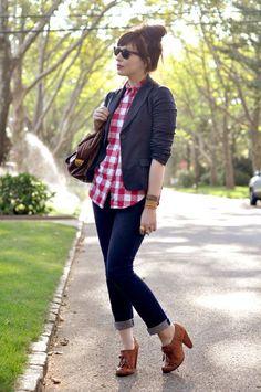 Oxford heel outfit idea #oxfordoutfit