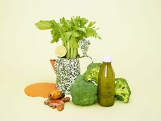 Still life created as part of a packaging and brand identity project led by Construct for juice brand Radiance.