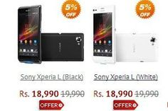 xperia l hits indian market and available for preorders. see specifications and features of this smartphone.