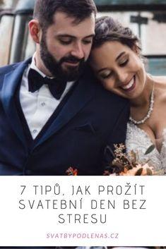 """Ať už chceme nebo ne, svatba je událost, která vyžaduje dlouhodobou přípravu, plánování, a co si budeme povídat, také trošku znalostí o tom, jak takovou """"akci"""" naplánovat. Proto může být pro mnoho pár příprava svatby, ale také samotný den stresující. Jak ale prožít svatební den bez stresu? Abraham Lincoln"""
