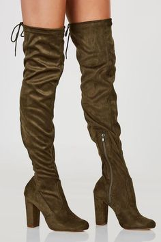 Page Me Thigh High Boots