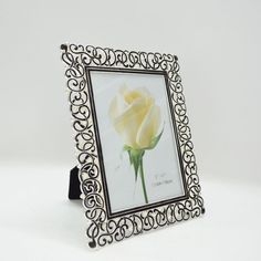 Amazon.com - Giftgarden 5 by 7 -Inch Metal Picture Frame for Photo Display 5x7 Black -