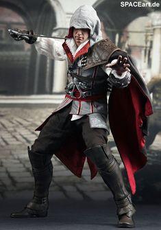 Assassins Creed II: Ezio Auditore - Deluxe Figur, Fertig-Modell ... http://spaceart.de/produkte/asc001.php