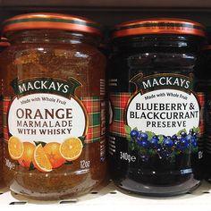 ¡Prueba los ricos sabores de naranja y arándono de mermelada @mackays_jams! Encuéntralos en #Tottus. #tedamaspormenos #mackays #jam #mermelada #blueberry #naranja #desayuno #lunes