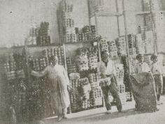 Figura 7. (Página 48).- Almacén de la fábrica de alpargatas de Sentenero Hermanos y Compañía. El Día, julio de 1919.