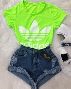 Petite Fashion Tips .Petite Fashion Tips Neon Outfits, Sporty Outfits, Swag Outfits, Mode Outfits, Retro Outfits, Stylish Outfits, Girls Fashion Clothes, Teen Fashion Outfits, Outfits For Teens