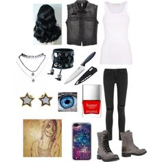 Creepypasta: Daughter of Jeff the Killer by ender1027 on Polyvore