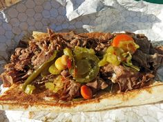 Corleone Beef Sandwich from Tony's Italian Beef (Chicago, IL)