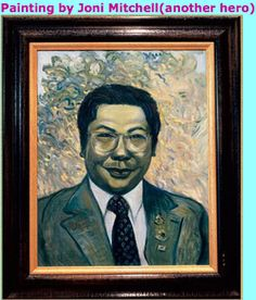"""Joni Mitchell re: Chögyam Trungpa. """"He snapped me out of [cocaine use]."""" ~ May 30, 2010"""