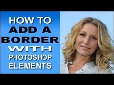 http://www.essential-photoshop-elements.com/add-a-border.html A quick and easy way to add a border around your photos using Photoshop Elements.