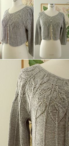 Bella: Short-Sleeve Vest with Leaf Motifs – Free Pattern Bella: Short-Sleeve Vest with Leaf Motifs – Free Pattern Knitting , lace processing is just about the most beautiful hobbies that girls will not give up. Interesting knitting id… Summer Knitting, Easy Knitting, Knitting Ideas, Lace Knitting Patterns, Knit Or Crochet, Free Pattern, Knits, Summer Vest, Ravelry