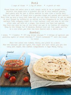 Making Roti | The Purple Calabash