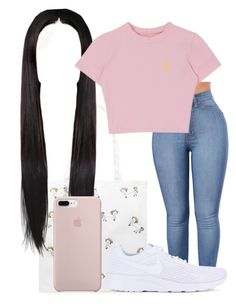 """""""Untitled #256"""" by fashionqueenforevs on Polyvore featuring Forever 21 and NIKE"""