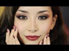 Oriental Holiday Look Makeup+Nails