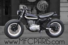 1 SUZUKI VANVAN VAN-VAN W16.Tavon MFC Design - Préparation motos, peinture, design, tuning, Suzuki - Kawasaki