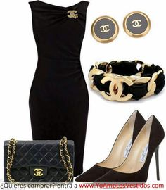 Great work to dinner out in Boston outfit. Have these accessories, just need this dress...just...