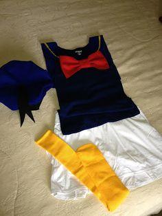 Love this Donald running costume. I already have my favorite white running skirt