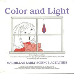 Color And Light MacMillan Early Science Activities Work Sheets Sing Song New #MacMillan #WorkSheets