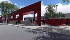 Transforman un galpón en una feria: La iniciativa forma parte de un proyecto urbanístico que cambiará el centro. #Salta #Metán #Transforma…