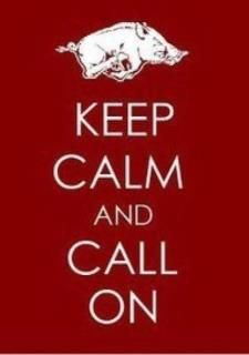 Prouder than ever to be a Razorback!!!  WPS!