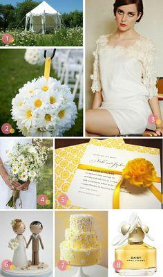 daisy wedding inspiration