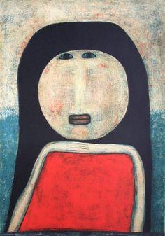 Femme marocaine (Farid Belkahia)