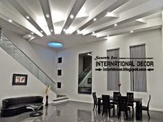International decor: Ceilings