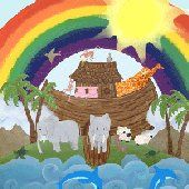 Noahs Ark Room Create A Wall Mural