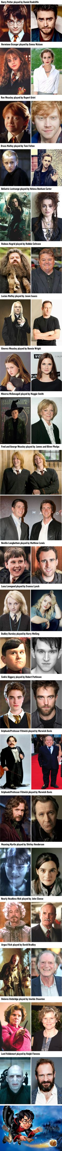 A Fascinating Look at the Stars of Harry Potter 16 Years Later