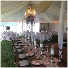 Lasting Impressions Wedding Coordination - Floral Chandlier