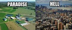 I can honestly agree sometimes. I used to live in the city before St. Paul and it was horrible