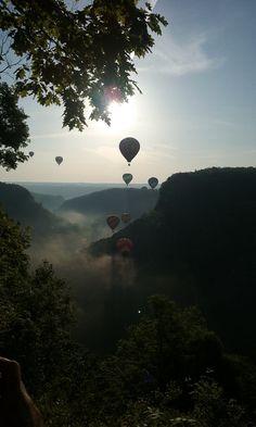 https://flic.kr/p/QTPKKy | Balloons over Letchworth
